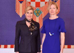 Horvaatia president Eesti suursaadik Horvaatia
